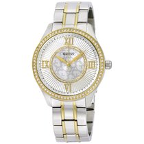 Guess W0825l2 Ladies Dress Watch Stainless Steel,two-tone,crys...