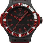 Hublot Big Bang King All Black Red Carat Mens Watch 322.CI.113...