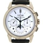Patek Philippe Perpetual Calender Chrono Moon Fase 5270g In...