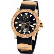 Ulysse Nardin Watches Marine Diver 42.7mm Rose Gold Rubber