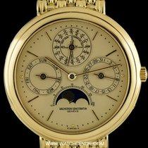 Vacheron Constantin 18k Y/G Patrimony Perpetual Calendar...