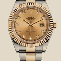 Rolex Datejust II 41mm Steel and Yellow Gold