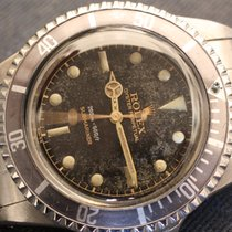 Rolex submariner 5512 gilt short pointed crown guard from 1959