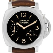 Panerai Luminor 1950 Acciaio 47mm 3 Days Power Reserve Watch...