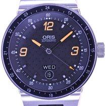 Oris Mans Automatic Wristwatch Williams F1 Team Day Date