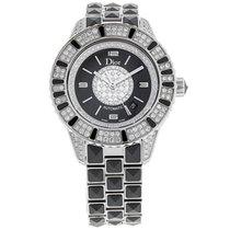Dior Christal Ladies Diamond Sapphire Watch CD113513M001