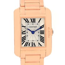 Cartier Tank Anglaise 18k Rose Gold Small Ladies Watch W5310013