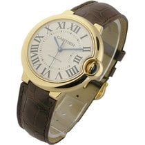 Cartier W6900356 Ballon Bleu in Yellow Gold - on Leather Strap...