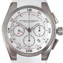 Porsche Design Dashboard White Chronograph