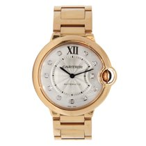 Cartier Ballon Bleu Diamond Dial 18K Solid Rose Gold