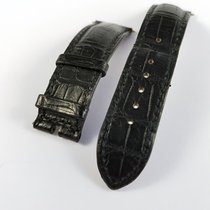 TAG Heuer alligator leather strap black 20mm, for pin clasp