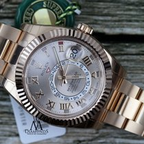 Rolex Sky Dweller 326935 Oyster Perpetual 18k Rose Gold  2016...