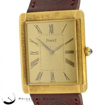 Piaget Vintage Solid 18k Yellow Gold Manual Wind Watch...