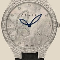GRAFF Watches Butterfly Silhouette 38 mm white gold &...