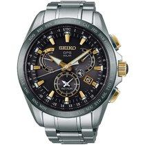 Seiko Herrenuhr Astron GPS Solar Dual Time SSE073J1