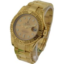 Rolex Unworn 168628 Yachtmaster in Yellow Gold - Mid Size - YG...