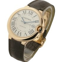 Cartier W6900651 Ballon Bleu - Large Size - Rose Gold on Strap...