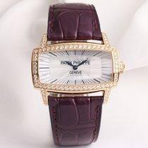 Patek Philippe Gondolo Gemma 4981R MOP Diamond Bezel 18K