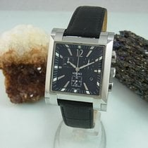 Versace Chronograph Edelstahl Saphir Glas Herrenuhr Flc99