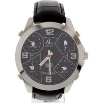 Jacob & Co. Men's  Five Time Zones Stainless Steel Watch