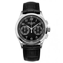 Patek Philippe Complications Chronograph 18K Solid White Gold
