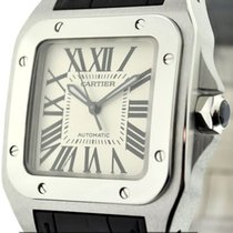 Cartier Santos Collection Santos 100 Stainless Steel 36mm Ref....