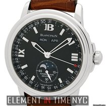 Blancpain Leman  Complete Calendar Moonphase 38mm Ref....