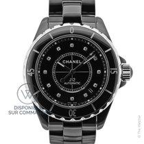 Chanel J12 Auto 38 mm Index diamants New-Full Set