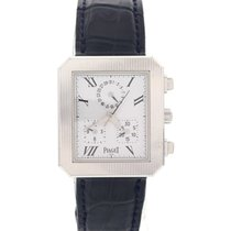 Piaget Men's Piaget Protocol 18k White Gold 14254 w/ Box...