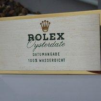 Rolex vintage desk plate brass Ref. 460 Display Oysterdate...