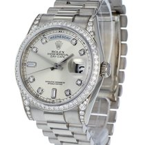 Rolex Day Date 18ct White Gold