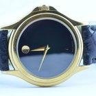 Movado Damen Uhr 32mm Stahl Vergoldet Museum Watch Rar 2
