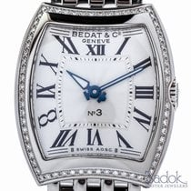 Bedat & Co No. 3 Blue-toned Hands 27mm Ladies' Stainless...