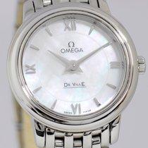 Omega De Ville Mother of Pearl Dresswatch MOP roman dial Lady
