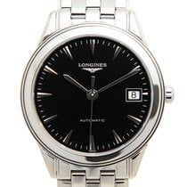 Longines Flagship Stainless Steel Black Automatic L4.774.4.52.6