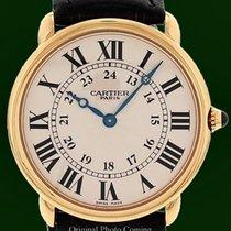 Cartier Ronde Solo Louis 18K Gold Mecanique Piaget 430 Cal...