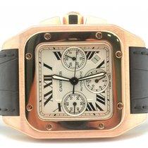 Cartier Santos 100 XL Chronograph W20131Y1