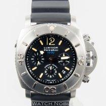 Panerai PAM 187 Submersible 1000m Diver Chronograph 47mm