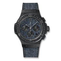 Hublot Big Bang 41mm Jeans Ceramic Ladies Watch Ref 341.CX.274...