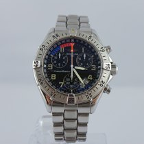 Breitling Transocean Chronograph quartz data 100m