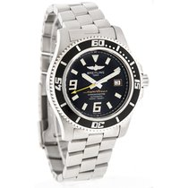 Breitling Superocean Mens Black & Yellow Swiss Automatic...