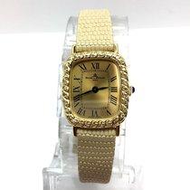 Baume & Mercier 18k Yellow Gold Ladies Watch W/ Diamonds...