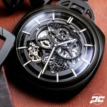 Panerai LO SCIENZIATO Tourbillon GMT Pocket Watch Ceramica [NEW]