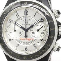 Chanel J12 Super Leggera Chronograph Aluminium Rubber Watch...