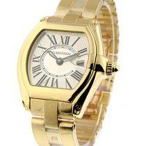 Cartier W62018V1 Roadster - Small Size - Yellow Gold on...