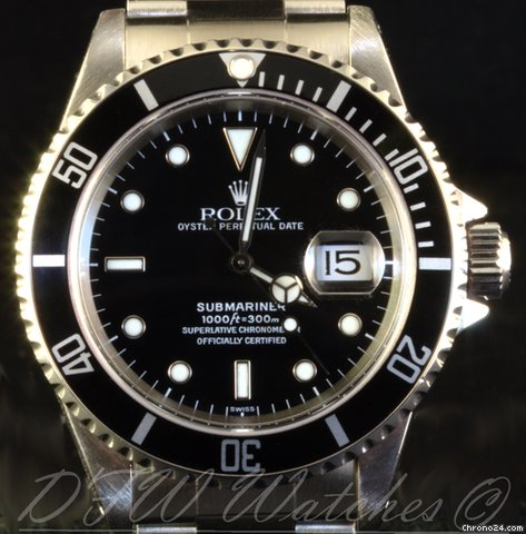 Rolex Submariner Date 16610 | Just Polished &amp;amp; Serviced | Warranty