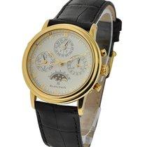 Blancpain Leman Perpetual Calendar Split Seconds in Yellow Gold
