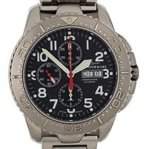Zeno-Watch Basel Stahl Automatik Chronograph Stahlband 47mm