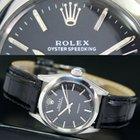 Rolex Oyster Speedking Precision Winding Steel Watch