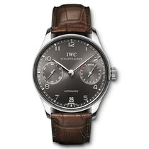 IWC Portuguese Automatic days white gold oro bianco gray dial